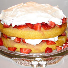 Kittencal's Strawberry Shortcake