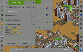 Screenshot of OpenTTD