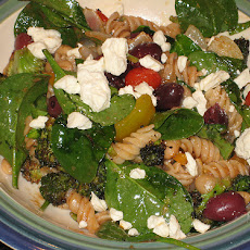 Lemon Pasta Salad With Tomatoes and Feta