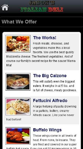 玩商業App|Jason's Italian Deli免費|APP試玩