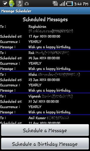 Message Scheduler