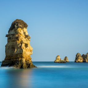Algarve ! Portugal  by Emanuel Fernandes - Landscapes Waterscapes ( water, algarve, long, portugal, rocks )