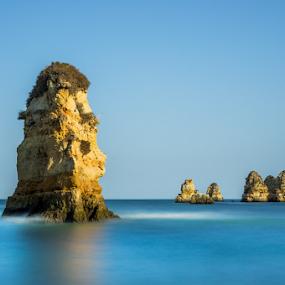 Algarve ! Portugal  by Emanuel Fernandes - Landscapes Waterscapes ( water, algarve, long, portugal, rocks )