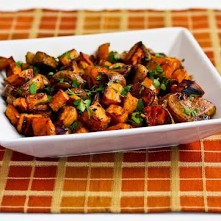 Thyme Roasted Sweet Potatoes Chicken Recipes
