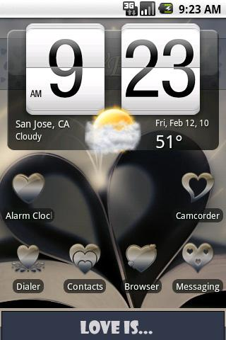 aHome Theme: Love Is