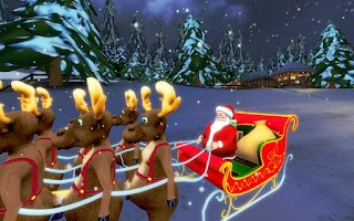 Screenshot of Santa Ride! HD