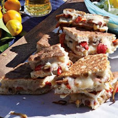 Italian Sausage and Roasted Pepper Panini
