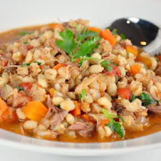 Crock Pot Lamb and Barley Stew