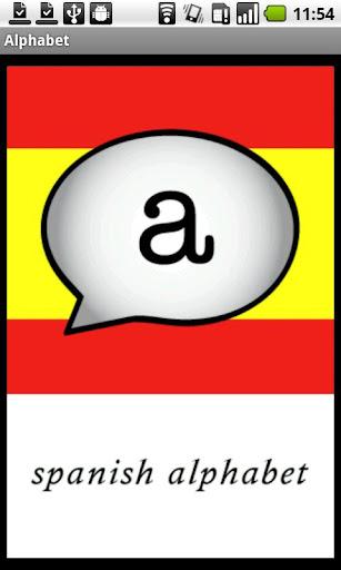 Spanish Alphabet Demo
