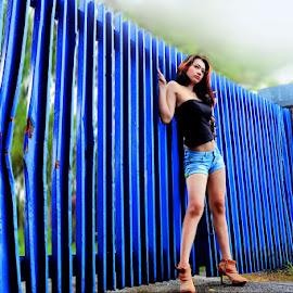 Guardian Gate by Inderawan Adi Cahyono - People Fashion ( sexy, model, photoshoot, bandung, photography, photooftheday )