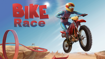 Screenshot of Bike Race Free - Top Free Game