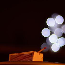 Magic of match stick by Avtar Singh - Abstract Fire & Fireworks ( match box# match stick# bokeh#art#fairy tale# avtarsingh )