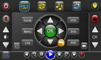 Screenshot of Touchsquid GR Universal Remote