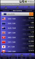 Screenshot of Forex Currency Rates Pro