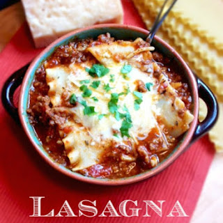 Lasagna Soup Recipe Italian Soup - Slow Cooker Method - Stove Top Method