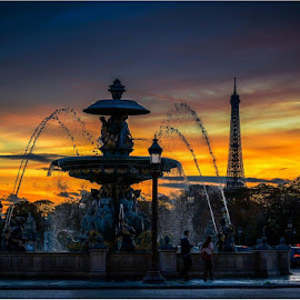 place de la Concorde by Edmund Fellinger - Buildings & Architecture Public & Historical ( #paris, #eiffeltower, #historical, #street view, #place de la concorde )