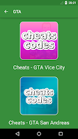 Screenshot of Cheats - GTA 5