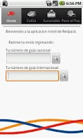 Screenshot of Redpack Movil Android