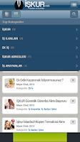 Screenshot of İŞKUR İş İlanları