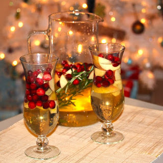 Apple and Cranberry Sangria