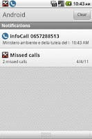 Screenshot of infoCall