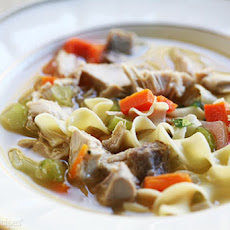 Mom's Turkey Soup