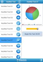 Screenshot of HazMat Test