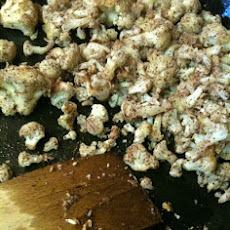 Roasted Cauliflower with Sumac and Rosemary Oil
