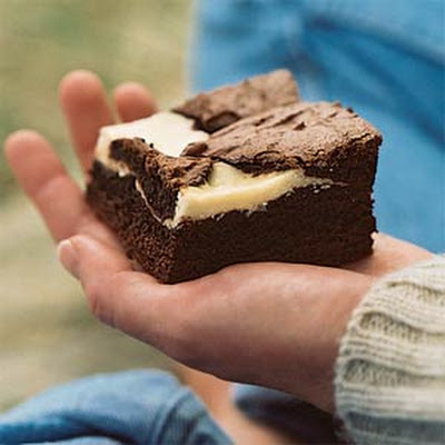 Chocolate-Fromage Blanc Brownies