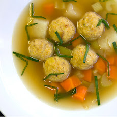 Einat Admony's Chicken Soup With Gondi (Iranian Chicken and Chickpea Dumplings)