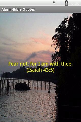 Alarm-Bible Quotes