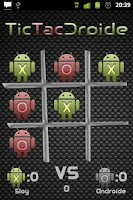 Screenshot of TicTacDroide - Tic Tac Toe