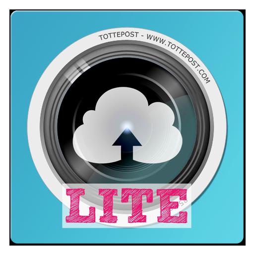 社交の1タップで写真を共有できる - tottepost Lite LOGO-記事Game