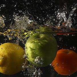 My Trio Splash by Syahrul Nizam Abdullah - Food & Drink Fruits & Vegetables