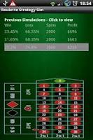 Screenshot of Win Roulette - Strategy Sim