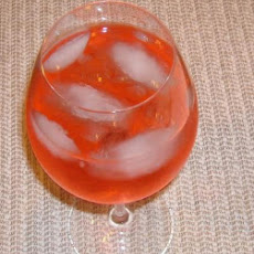 Sassy Wine Spritzer for the Holidays
