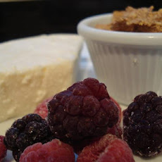 Guilt-Free Crustless Ricotta Cheesecake