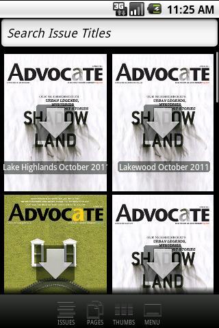 Dallas Advocate Magazines