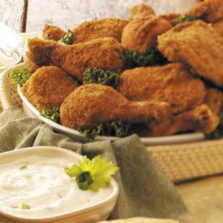 Picnic Chicken with Yogurt Dip
