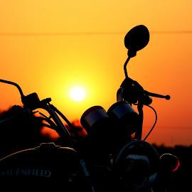 SEE THROUGH by Sanat Adhikari - Transportation Motorcycles