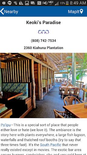 Kauai Revealed 9th Edition - screenshot