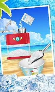 Game Snow Cone Maker - Frozen Foods APK for Kindle