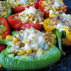 Poblanos Stuffed With Corn and Cheese