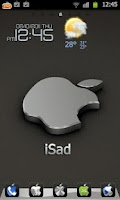 Screenshot of iSad Go Launcher Ex Theme