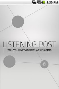 Listening Post - screenshot