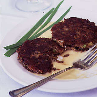 Fresh Mushroom Cutlets with Mornay Sauce