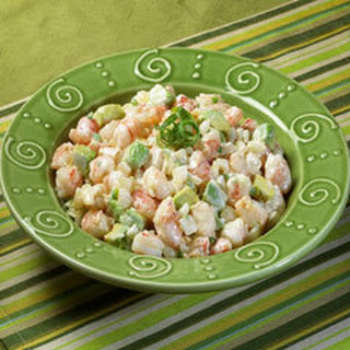 Salad With Shrimp And Avocado And Egg Recipes