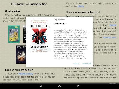Download Full FBReader: Favorite Book Reader  APK