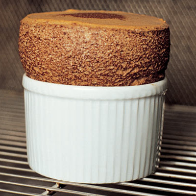 Hot Chocolate Soufflé