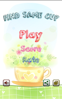 Screenshot of Find Same Cup (Kids Brain)